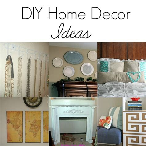 home design diy 40 diy home decor ideas