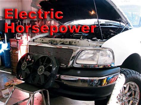 ford ranger electric fan conversion kit ford f150 radiator fan install flex a lite electric fans