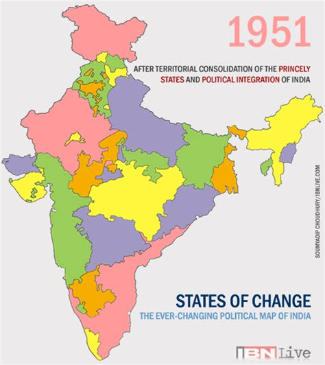 indian states gif constantly changing states divisions of india since