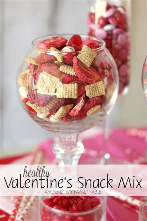 healthy valentines snacks healthy s snack mix around my family table
