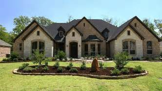 Brick stone or stucco exterior timeless architectural design
