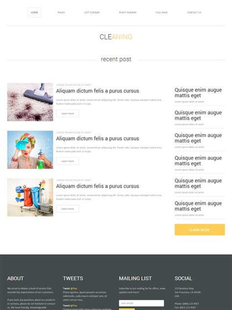 Cleaning Chemical Website Template Cleaning Website Templates Dreamtemplate Chemical Website Templates
