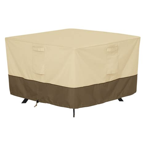 classic accessories veranda square patio table cover