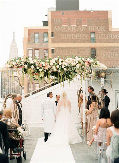 new york city wedding pristine new york city wedding at studio 450 modwedding