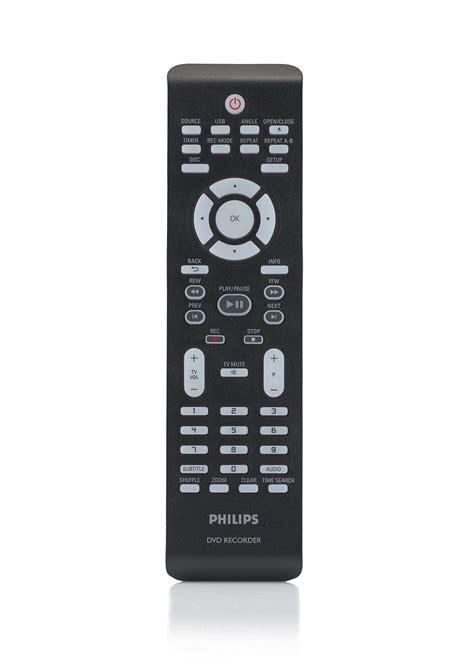 remote control  dvd recorder crp philips
