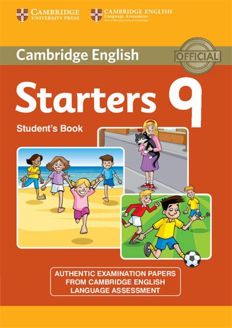 cambridge english starters cambridge movers sle papers