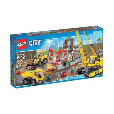 blibli lego jual lego city 60076 demolition site mainan anak online