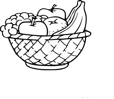 coloriage corbeille de fruits 224 imprimer sur coloriages info