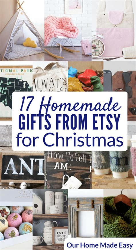 Etsy Handmade Gifts - the best etsy gifts when you aren t crafty our home made