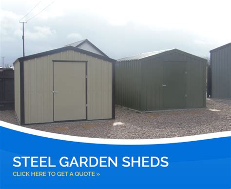 Metal Garden Sheds Northern Ireland by Choose Your Type Of Steel Shed Steel Sheds Steel Garages Northern Ireland