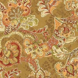 Ballard Designs Kitchen Rugs tuscan paisley rust sunbrella fabric by the yard