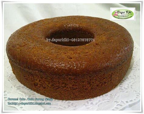 dapur kiki caramel cake bolu sarang semut