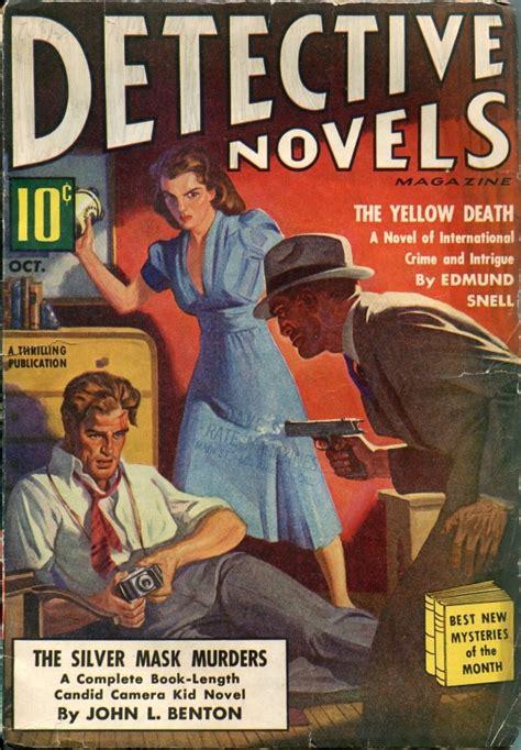 october a novel books detective novel pulp covers