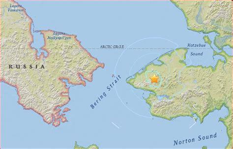 shishmaref alaska map extremely m4 8 earthquake near shishmaref alaska