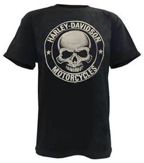 Harley Davidson Mens Lined Denim Sleeve Skull Shirt harley davidson s h d skull badge sleeve t shirt black 30298293 ebay