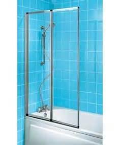Two Panel Sliding Shower Bath Screen Details About Fold Away Shower Screen Over Bath Folding