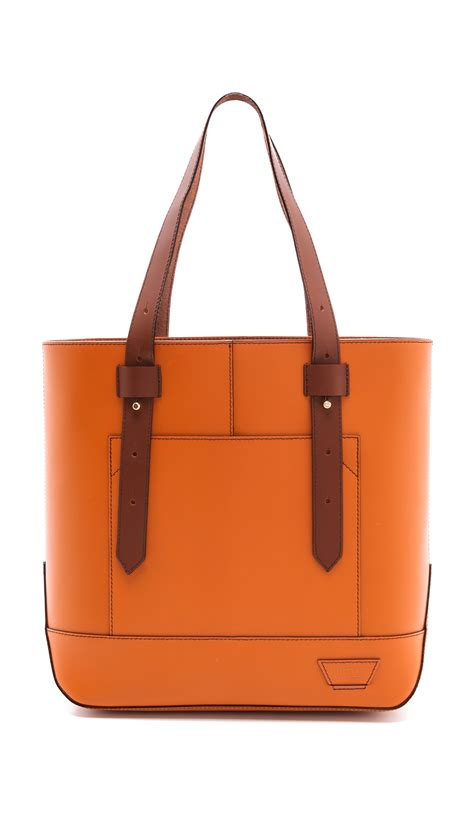 Gryson Tote by Iiibeca By Gryson Tote In Orange Lyst