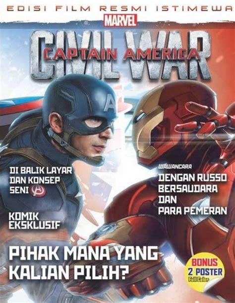 daftar film non fiksi bukukita com marvel captain america civil war edisi