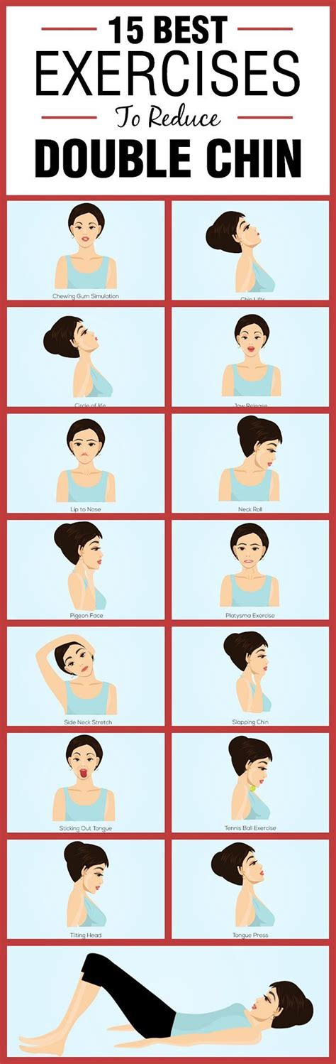 double chin exercises 15 best exercises to reduce double chin pictures photos
