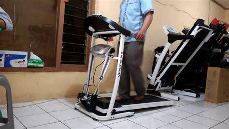 Treadmill Elektrik Id638 Treadmill Elektrik Alat Fitnes cara menggunakan treadmill elektrik venice m8 2 fungsi
