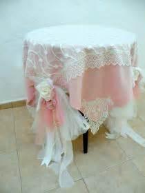 Shabby Table Cloth Pink Lace 2 shabby wedding weddbook