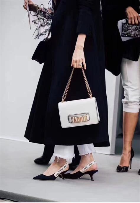 J Flap Bag With Chain Blue j adior flap bag with chain in white calfskin