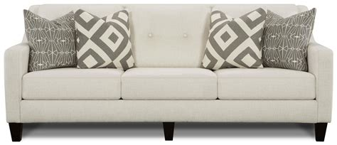 fusion upholstery fusion furniture 3280 contemporary sofa with track arms