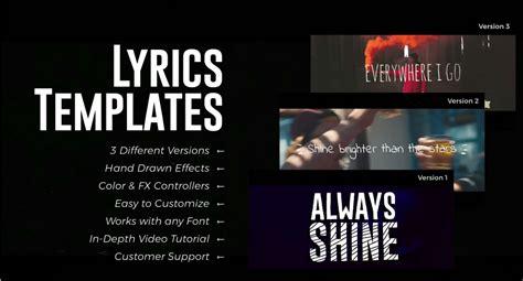 membuat video lyric tren video lirik siapa yang menggunakannya dan bagaimana
