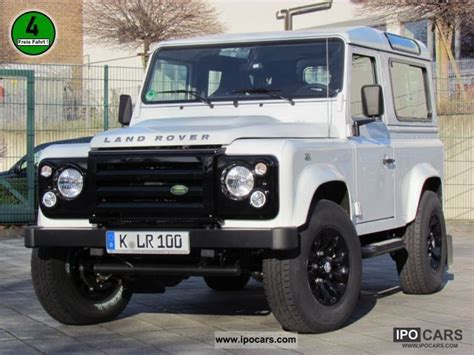 white land rover defender 90 2012 land rover defender 90 td4 sw black white svx np 47