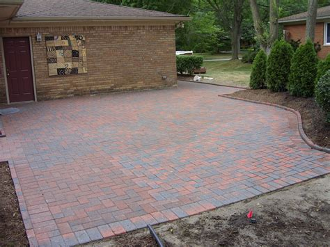 bricks for backyard patio paver design ideas traditional brick patio patterns
