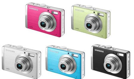 coolest latest gadgets – colourful l201 digital camera to
