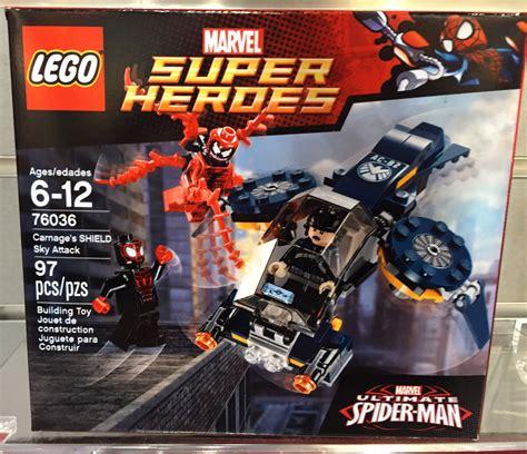Lego Marvel 76036 Carnage Shield Sky Attack lego marvel carnage s shield sky attack 76036 fair