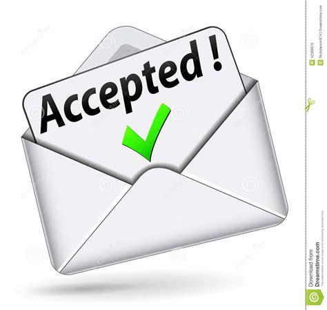 Acceptance Letter Image Gallery Acceptance Clip