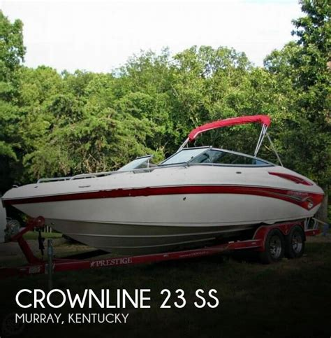 pontoon boats for sale murray ky sold crownline 23 ss boat in murray ky
