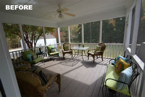 A Screened Porch Haven for Warm Summer Days