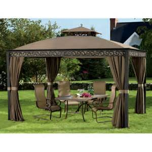 Living home outdoors aluminum hardtop grill gazebo outdoor grills