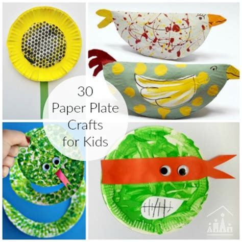arts and crafts with paper plates arts and crafts archives crafty at home