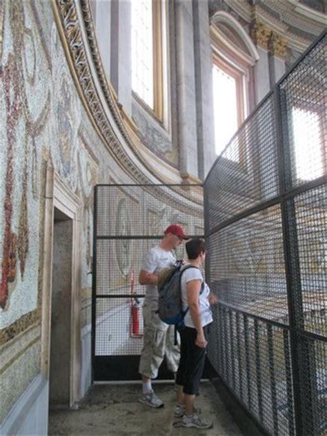 visitare cupola di san pietro interno della cupola di san pietro ballatoio foto di