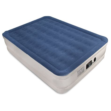 air mattress bed soundasleep dream series air mattress queen size