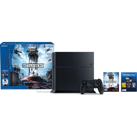Bettlefront Starwars Ps4 Digital Playstation 4 sony playstation 4 wars battlefront bundle 3001356 b h