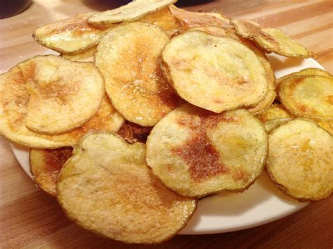 Handmade Chips - baked potato chips the quot v quot word
