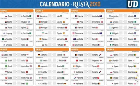 calendario deportivo de tv deportesonline descarga tu calendario de rusia 2018
