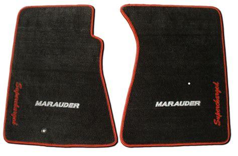 Mercury Marauder Floor Mats car motorsports mercury marauder floor mats