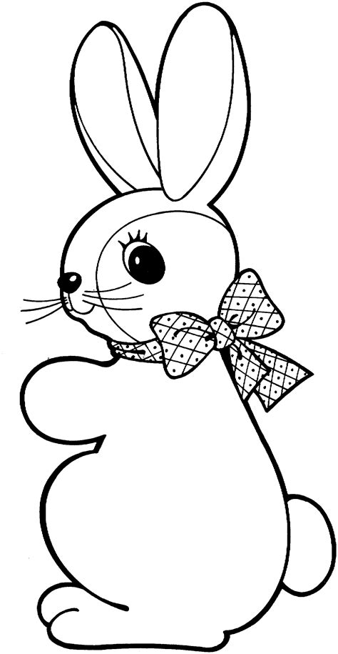 easter bunny coloring pages for toddlers easter bunny coloring