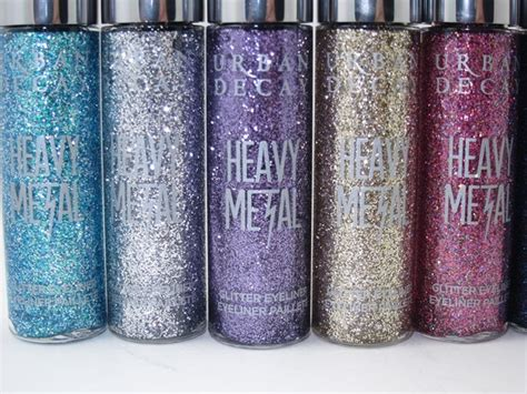 Decay Glitter Eye Gels by Decay Heavy Metal Glitter Eyeliner Review Swatches