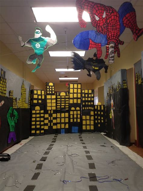 high school christmas party idea hopi high school homecoming 2013 hallway decoration contest pranks mirror image
