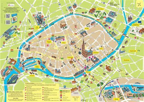 Strasbourg Plan by Plan De La Ville Strasbourg Du Touriste Great Ideas And