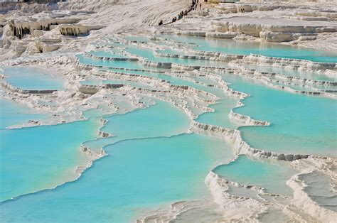 pamukkale thermal pools spectacular pamukkale thermal pools in turkey the