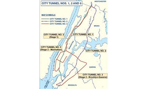map of new york city tunnels new york city outlines plan to complete third water tunnel