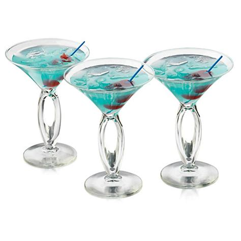 Cool Cocktail Glasses Discounted Libbey 6 Pc Cool Cabana Martini Glass Set